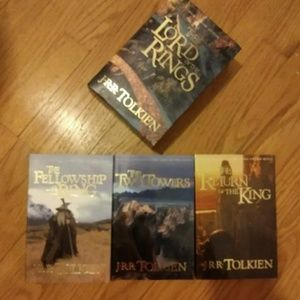 Set of 3 Lord of the rings books